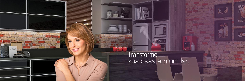 Transforme sua casa em um lar